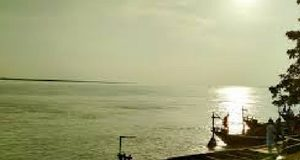 The Joining Place of Padma and Meghna River