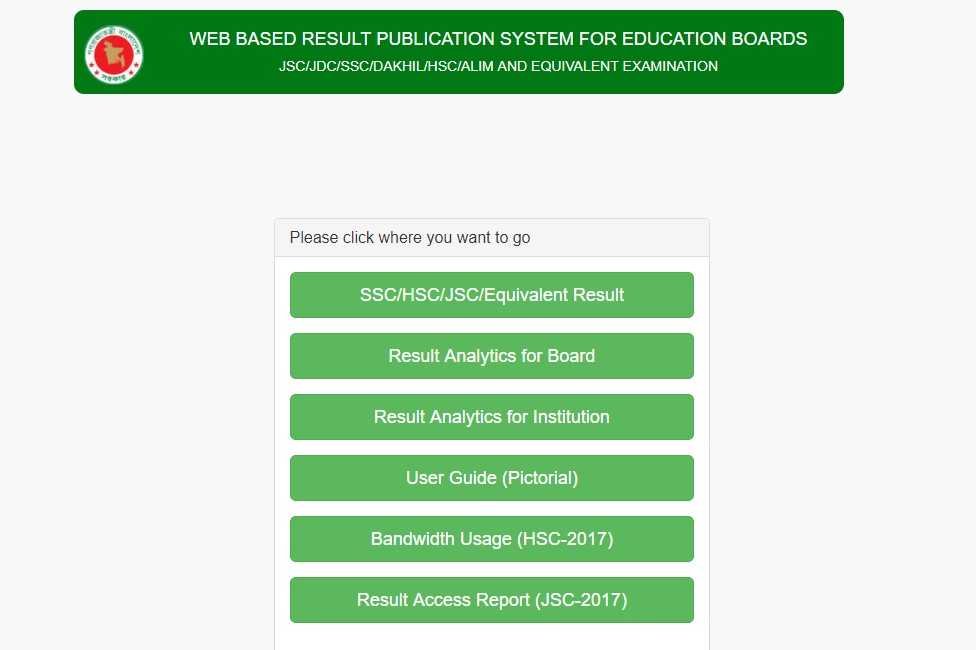 SSC Exam Results 2018