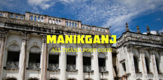 Manikganj District – All Thana or Upazila Postcode or Zip Code