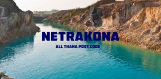 Netrakona District – All Thana or Upazila Postcode or Zip Code