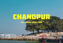Chandpur District – All Thana or Upazila Postcode or Zip Code
